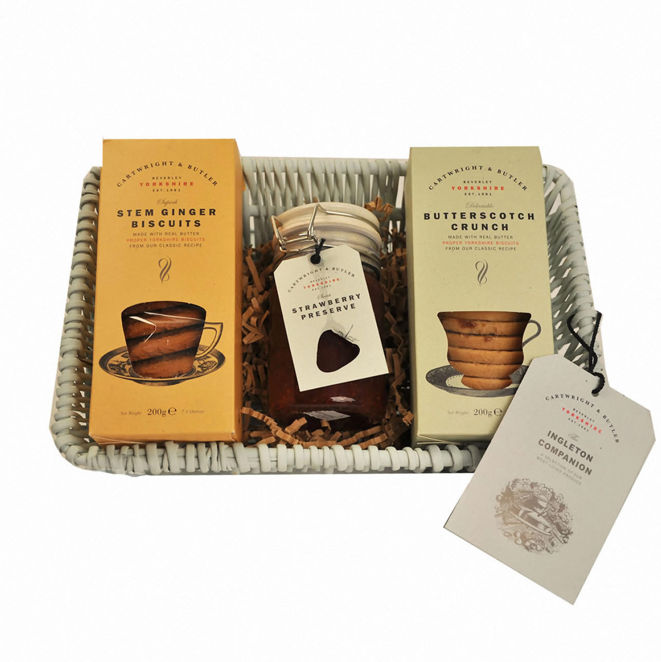 Ingleton Biscuit and Preserve Gift Tray by Cartwright & Butler