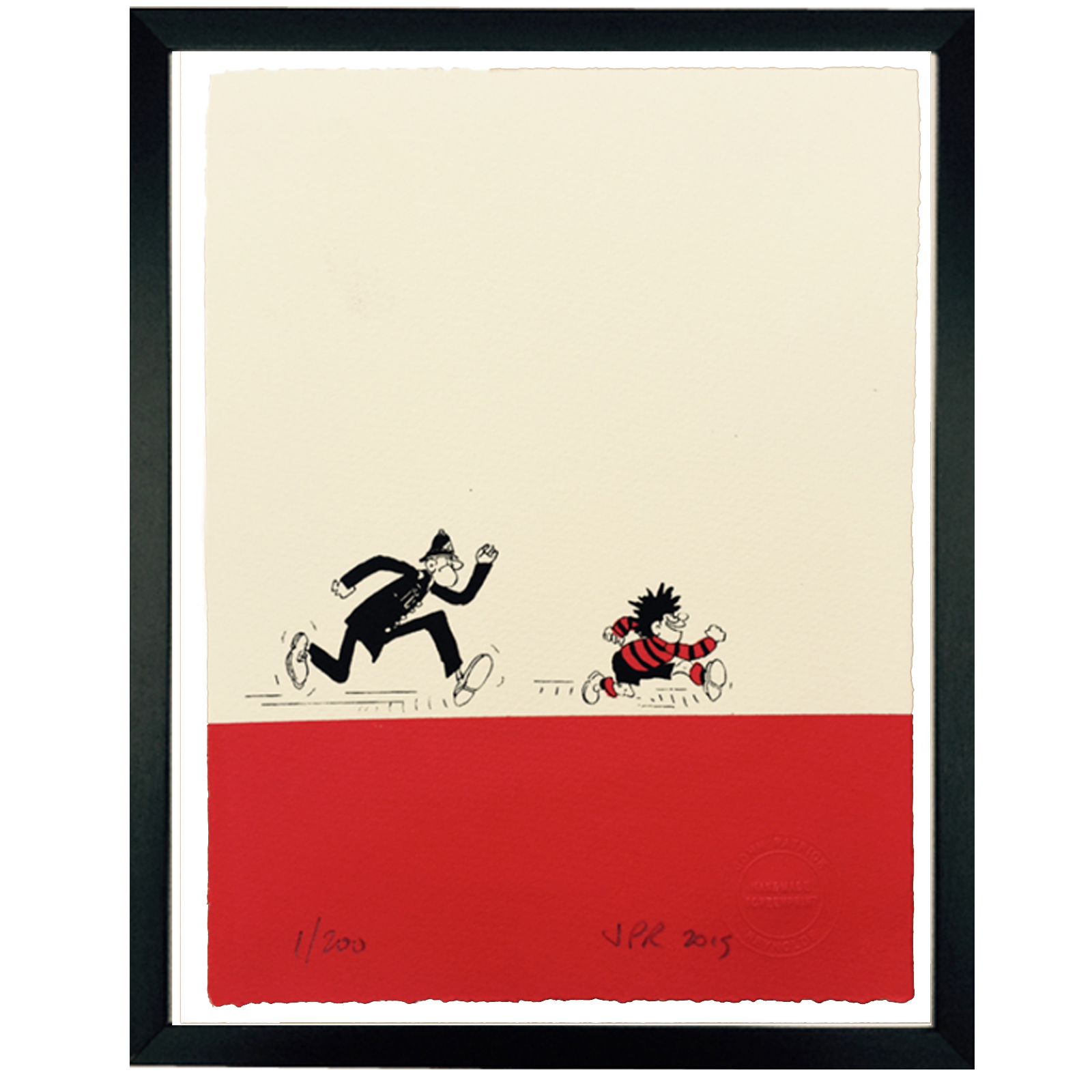 Dennis the Menace and Copper - Limited Edition Screen Print