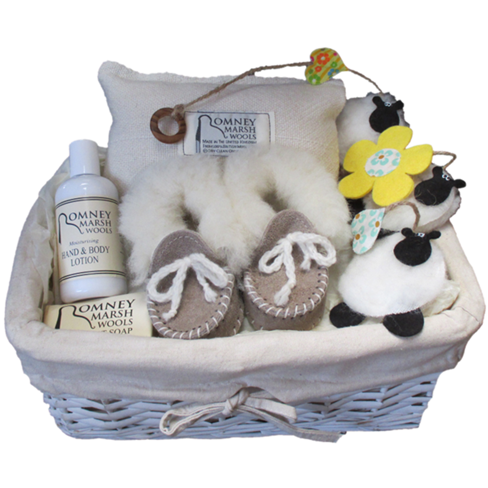 Romney Mummy and Baby Gift Basket