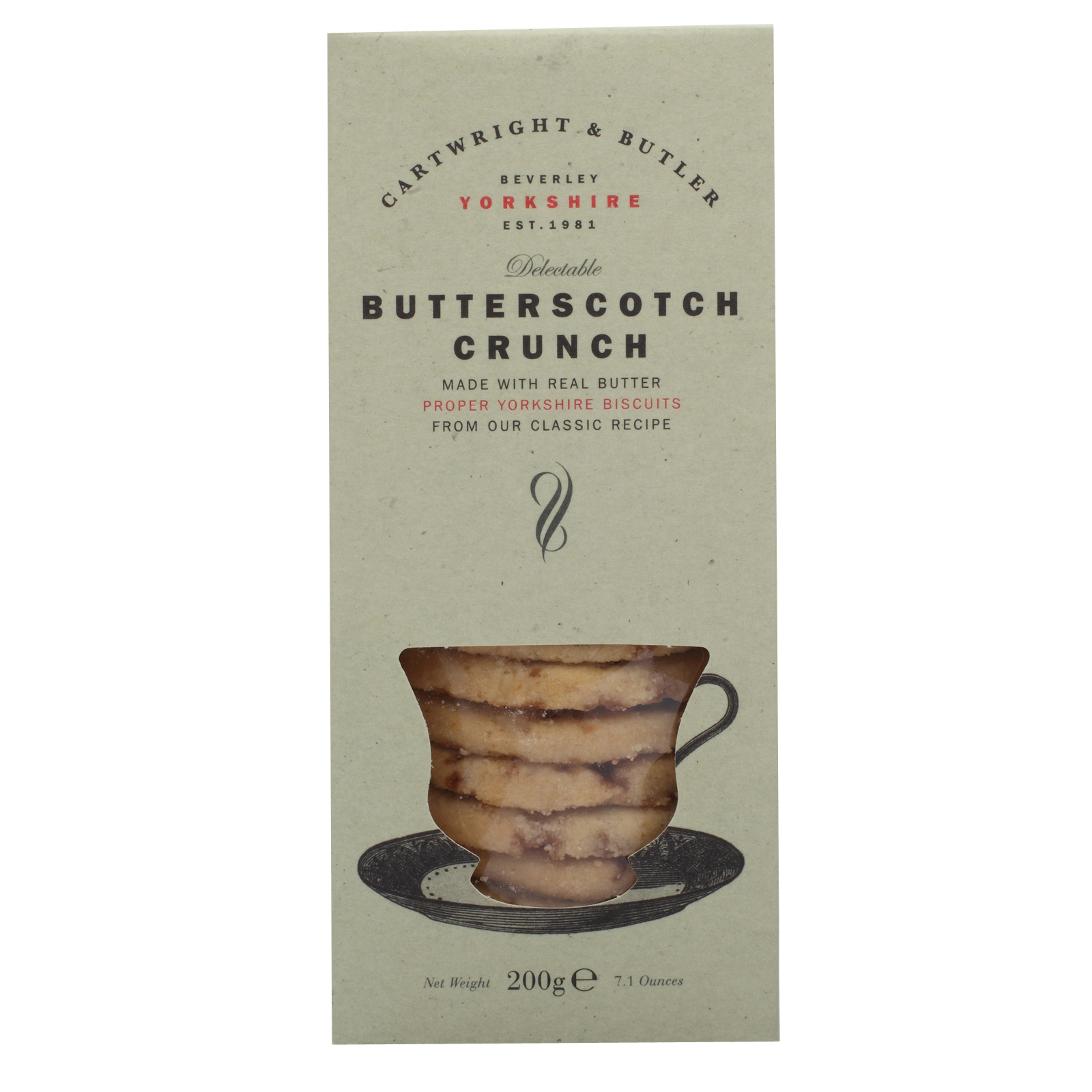 Butterscotch Crunch by Cartwright & Butler