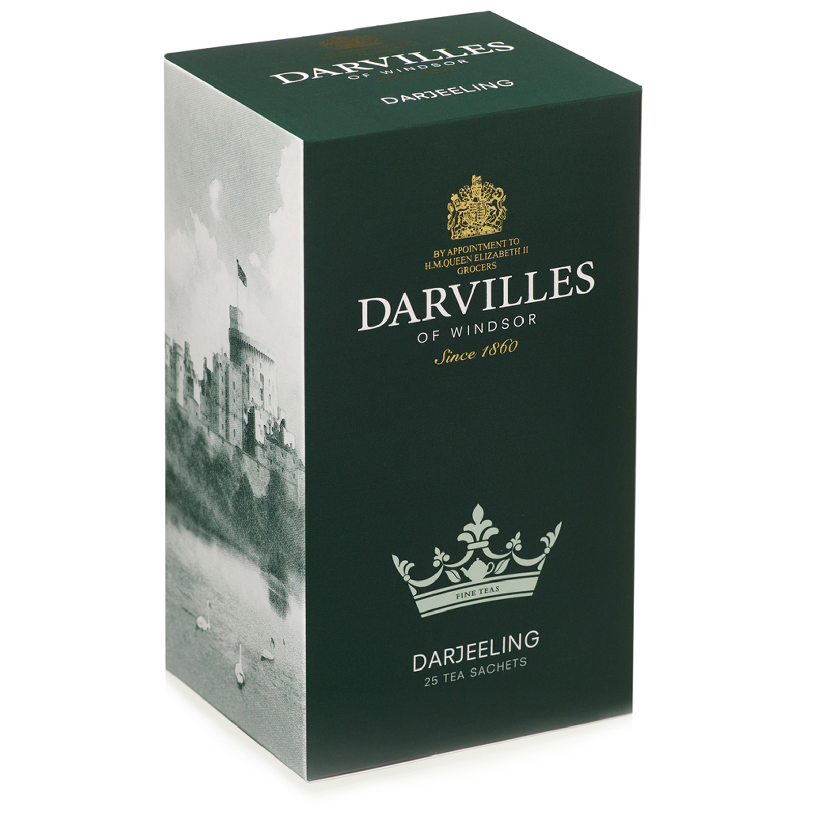 Darvilles of Windsor  Darjeeling 25 Tagged Sachet Box 50gm