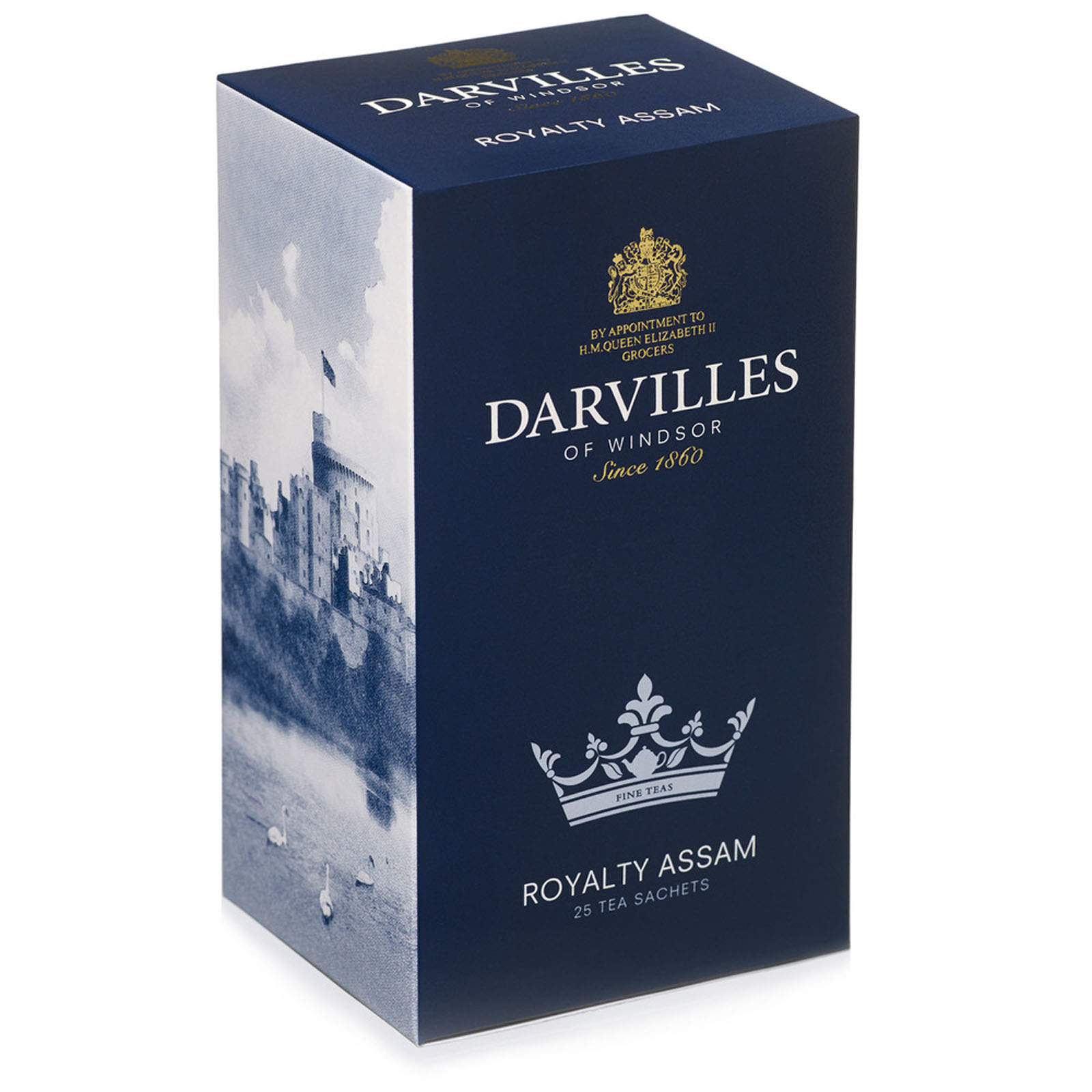 Darvilles of Windsor  Royalty Blend  50 Tea Bag Box 100gm
