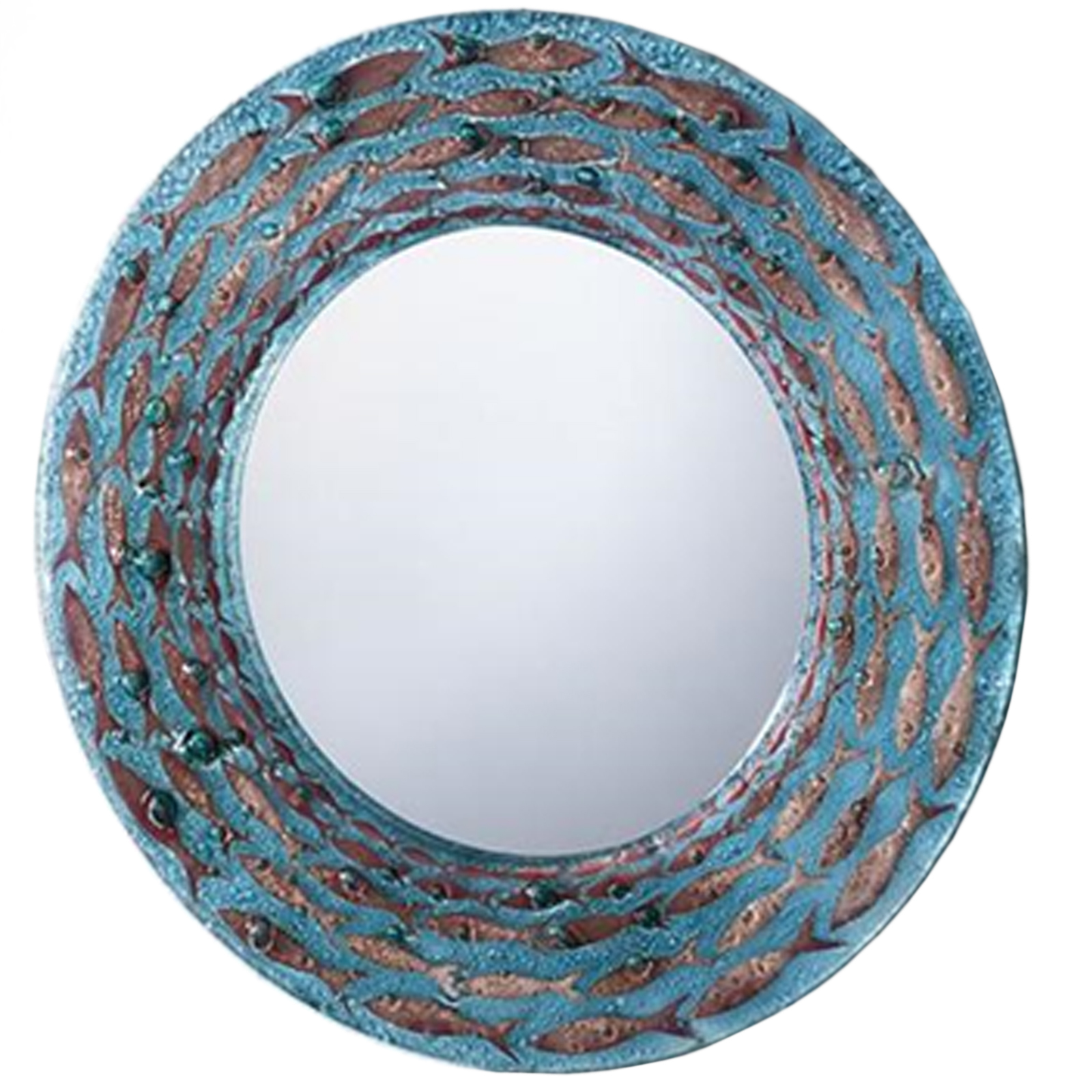 Mirror - Cornish Pilchards Design by Jo Downs