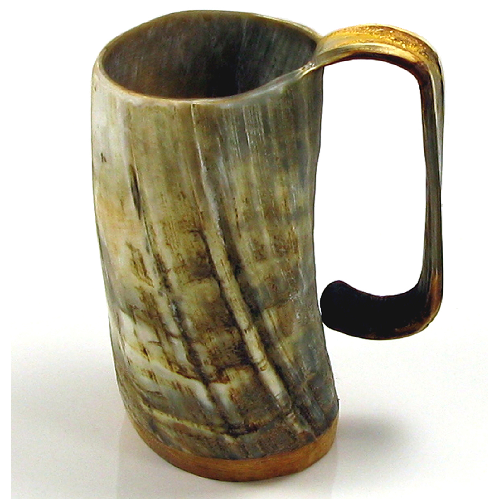 Game of Thrones Soldiers Mead Mug or Tankard  - Unpolished Ox Horn Approx 1 pint