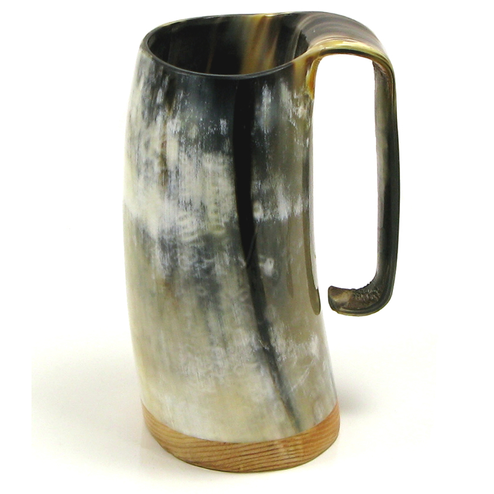 Game of Thrones Soldiers Mead Mug or Tankard  - Polished Ox Horn Approx 3/4 pint