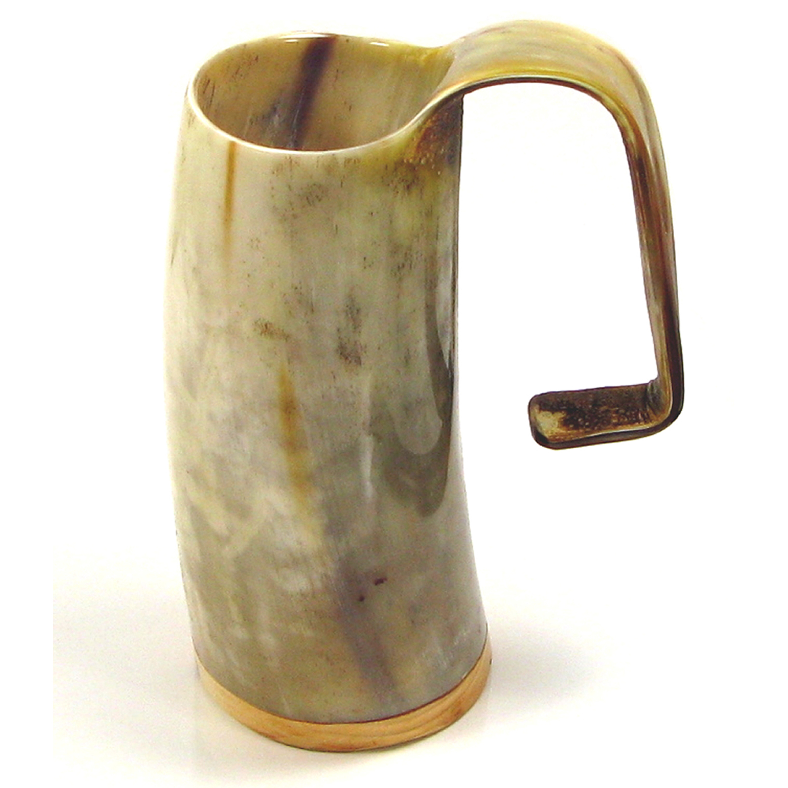 Game of Thrones Soldiers Mead Mug or Tankard  - Polished Ox Horn Appox 1 pint