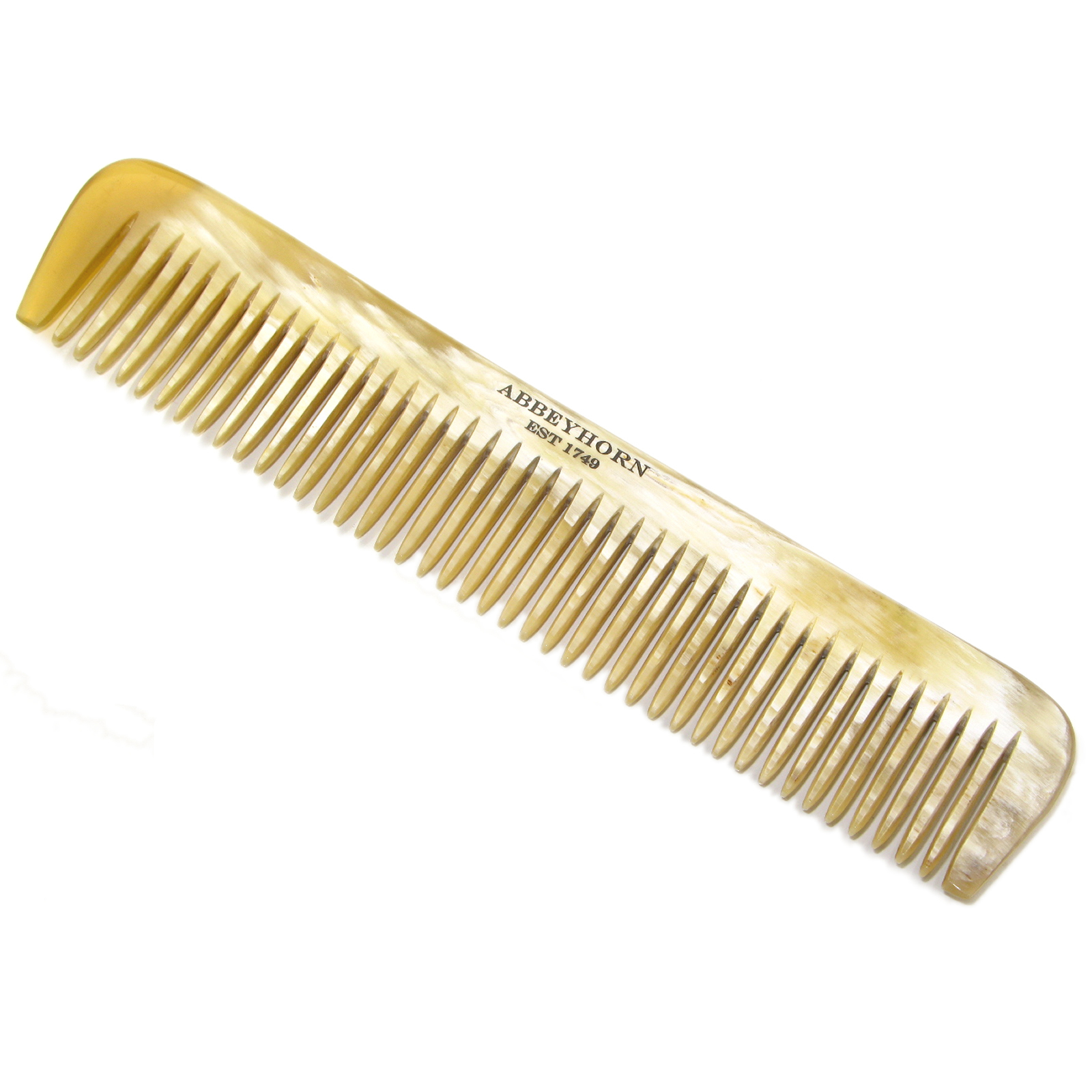 Ox Horn Single Tooth Dress Comb by Abbyhorn