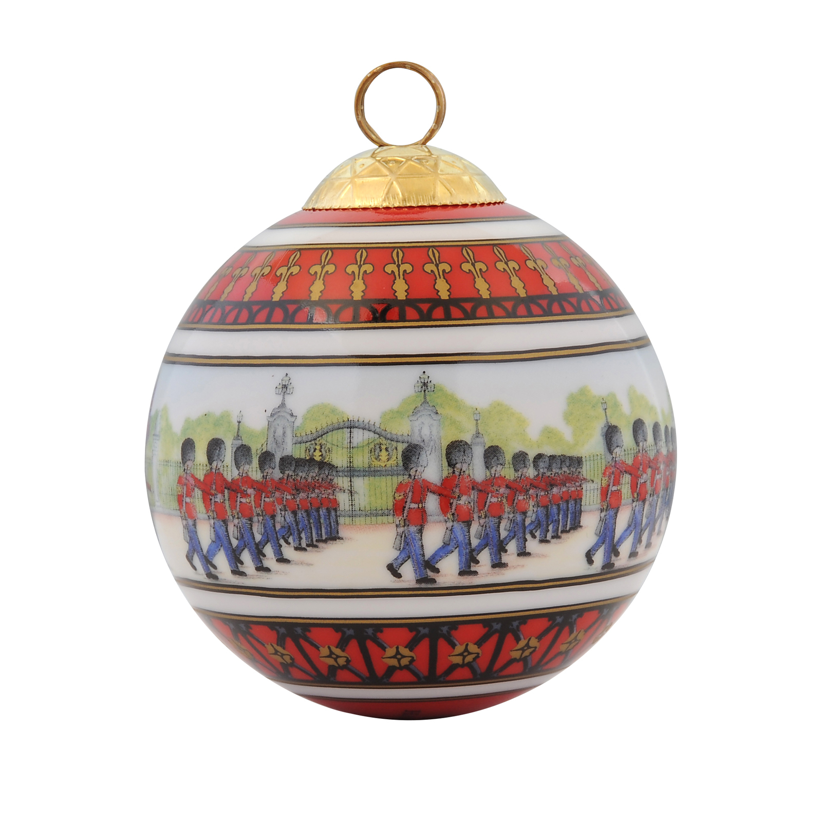 Christmas Bauble - Changing Of The Guard Design by Halcyon Days