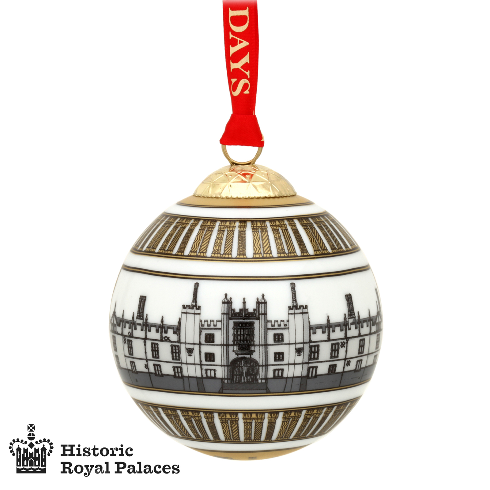 Christmas Bauble - Hampton Court Palace Design by Halcyon Days