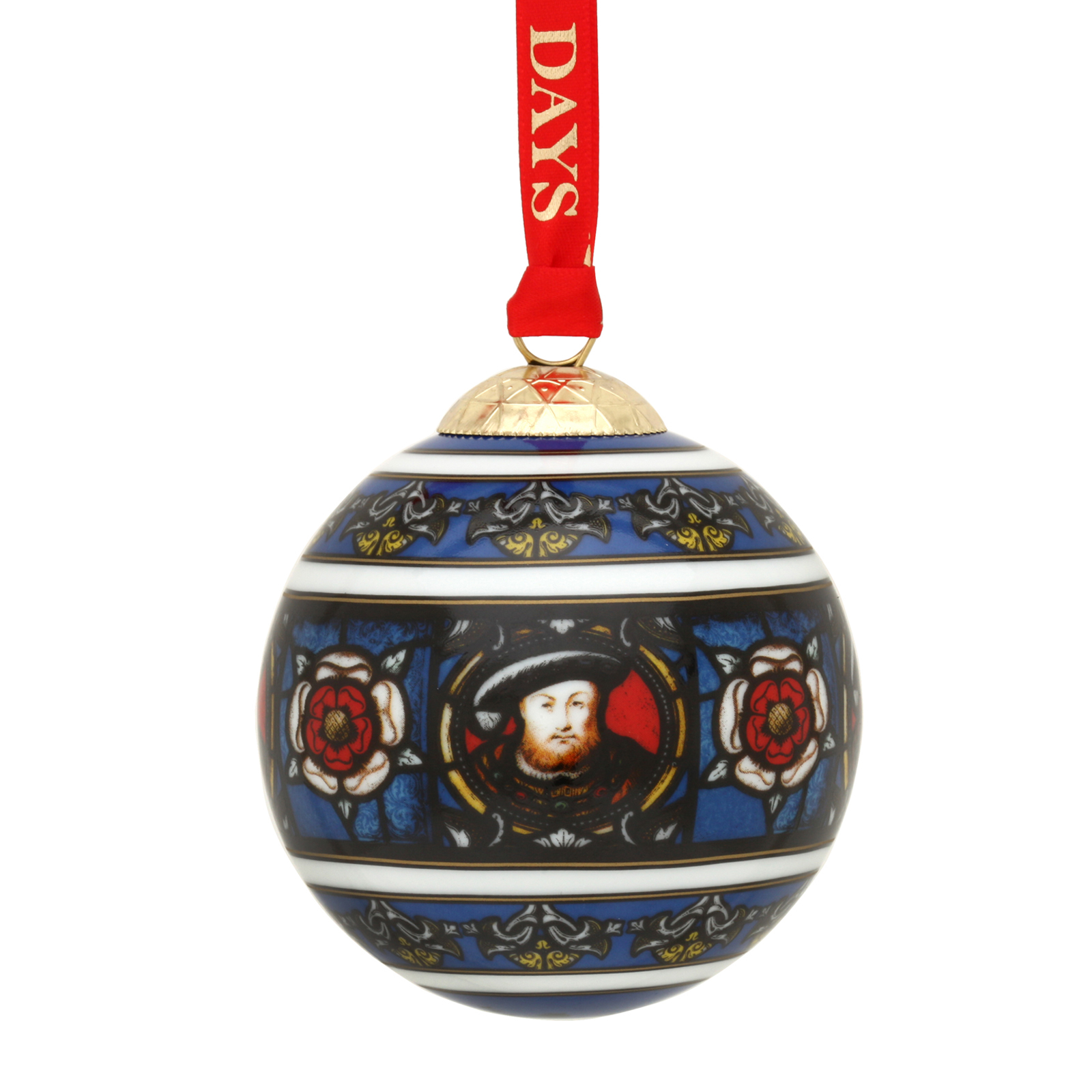 Christmas Bauble - Henry VIII Design by Halcyon Days