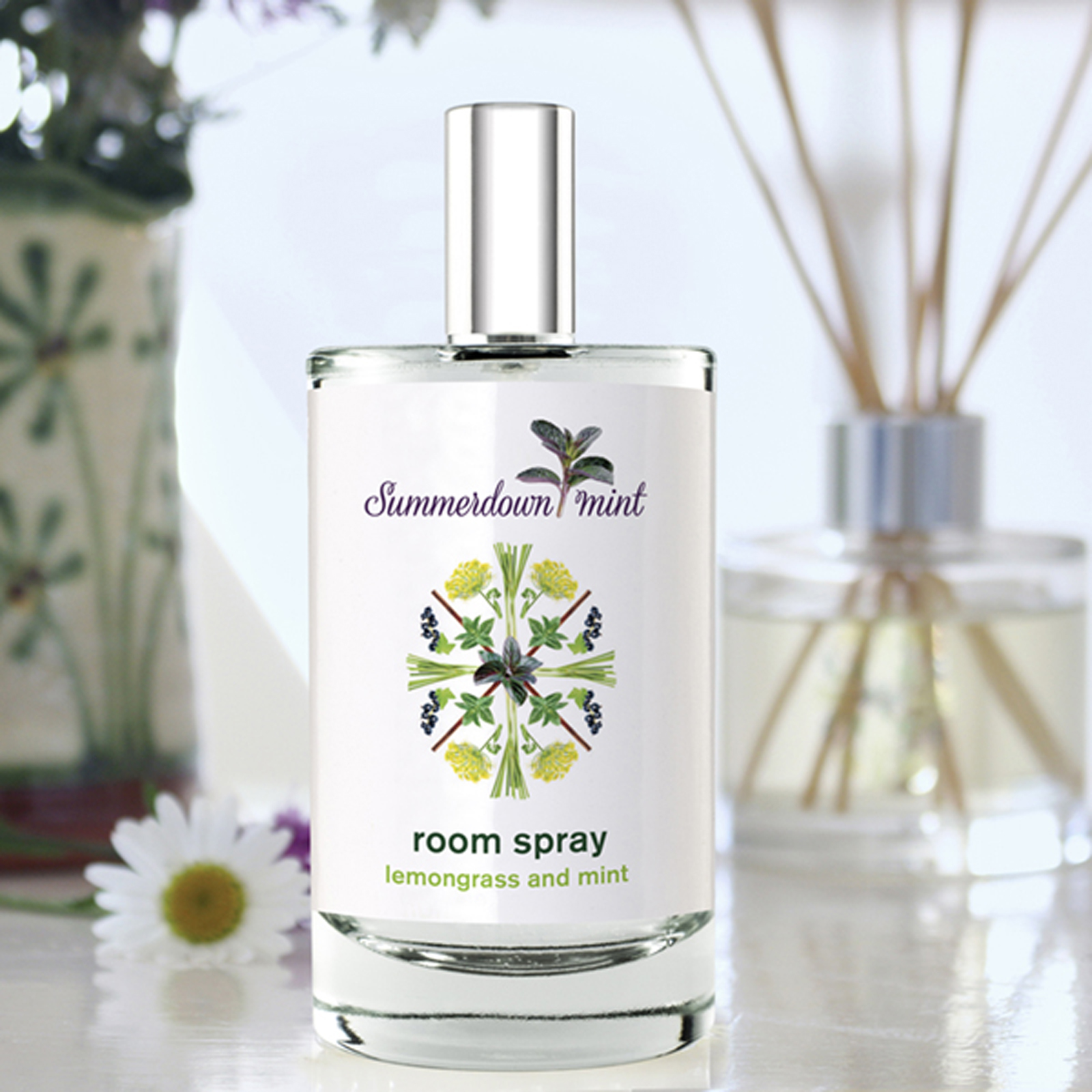 Lemongrass and Mint Room Spray by Summerdown Mint