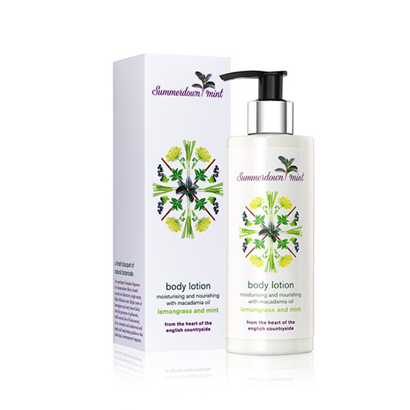Lemongrass and Mint Body Lotion by Summerdown Mint