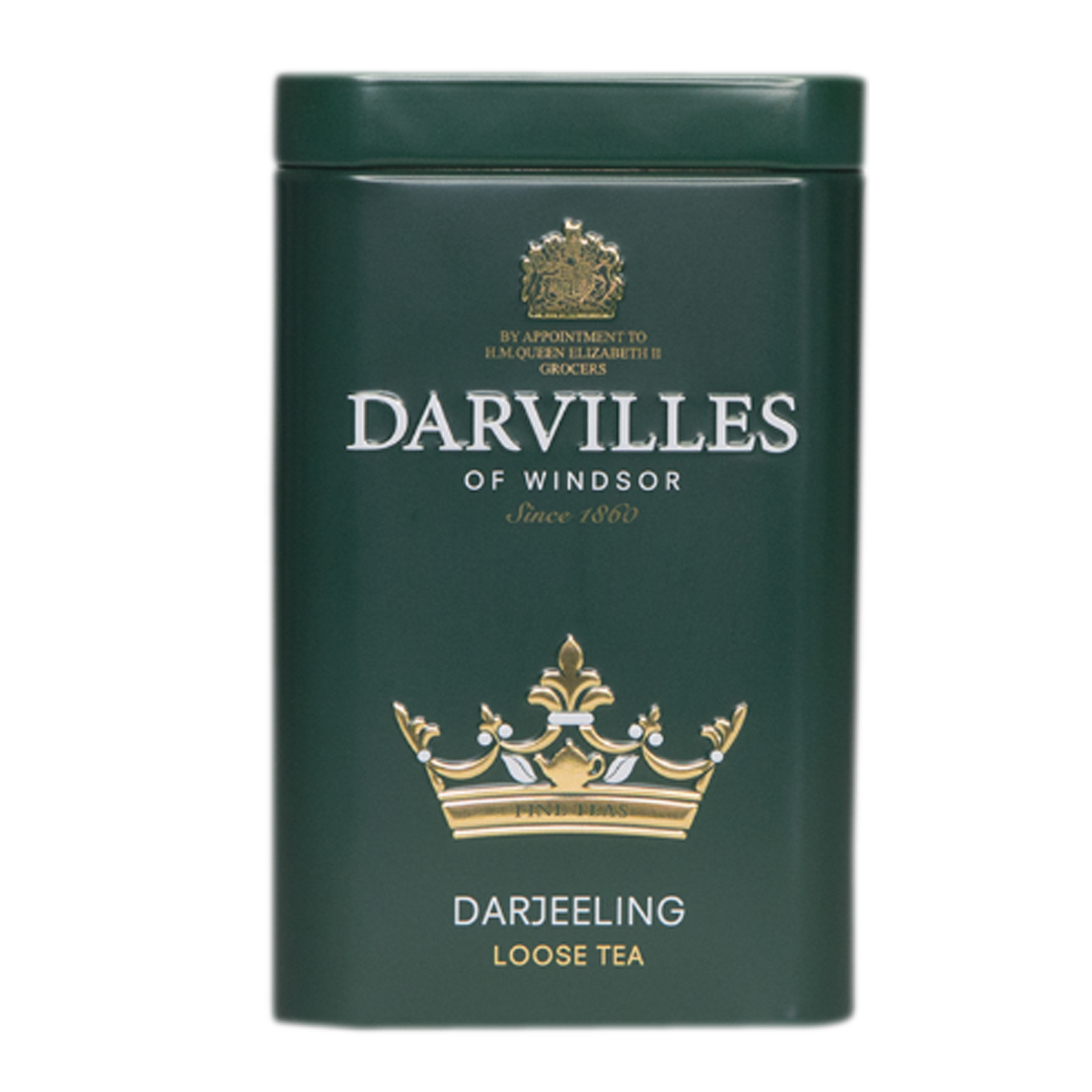Darvilles of Windsor Darjeeling Loose Tea Caddy 100gm