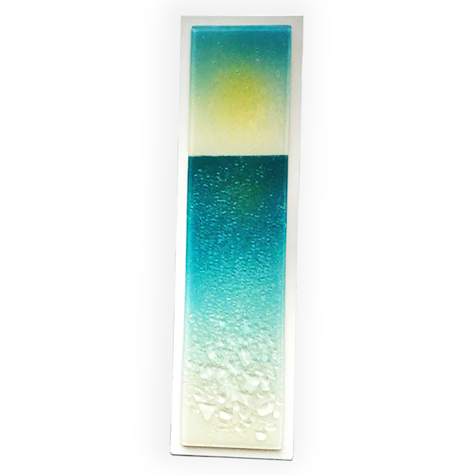 On the Beach Wall Art Panel by Berserks Glass