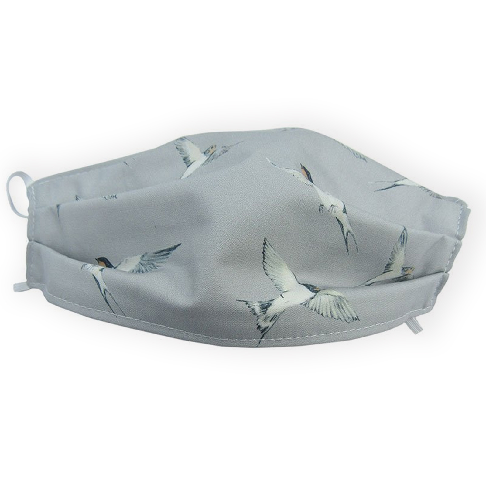 Reusable Face Mask -  Swallow Bird Print