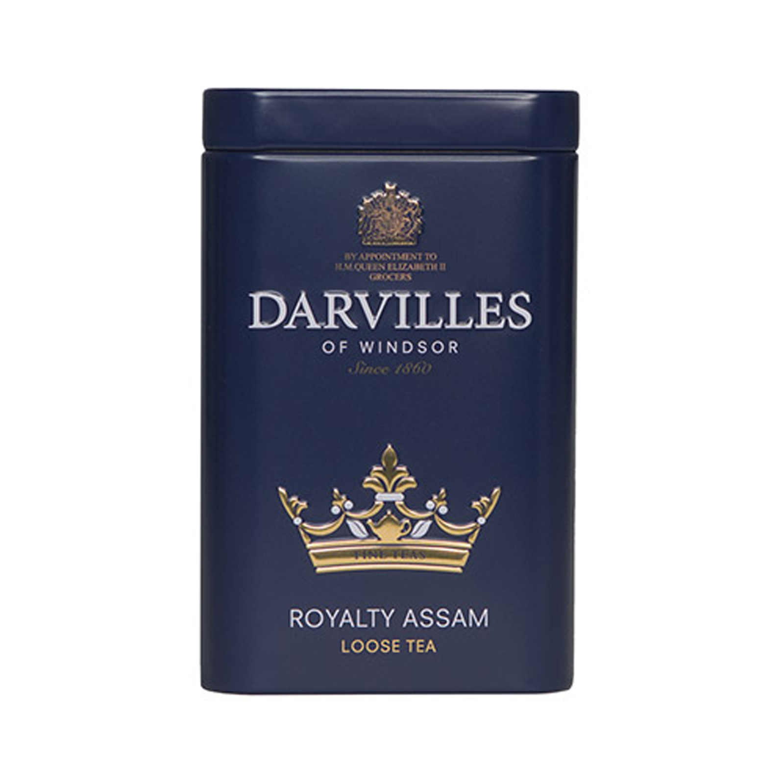 Darvilles of Windsor  Royalty Blend  Loose Tea Caddy 100gm