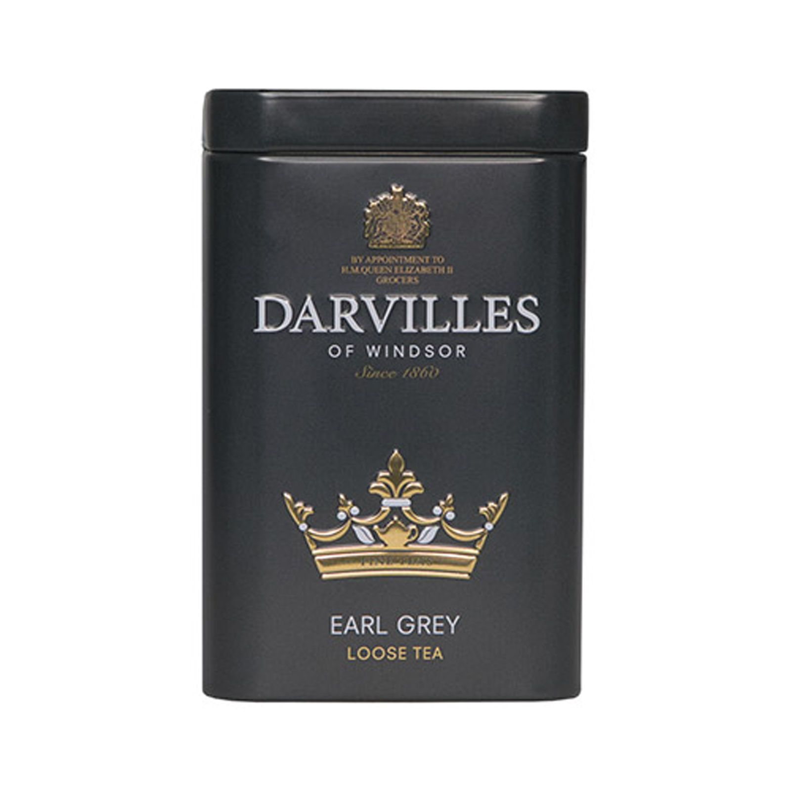 Darvilles of Windsor Earl Grey Loose Tea Caddy 100gm