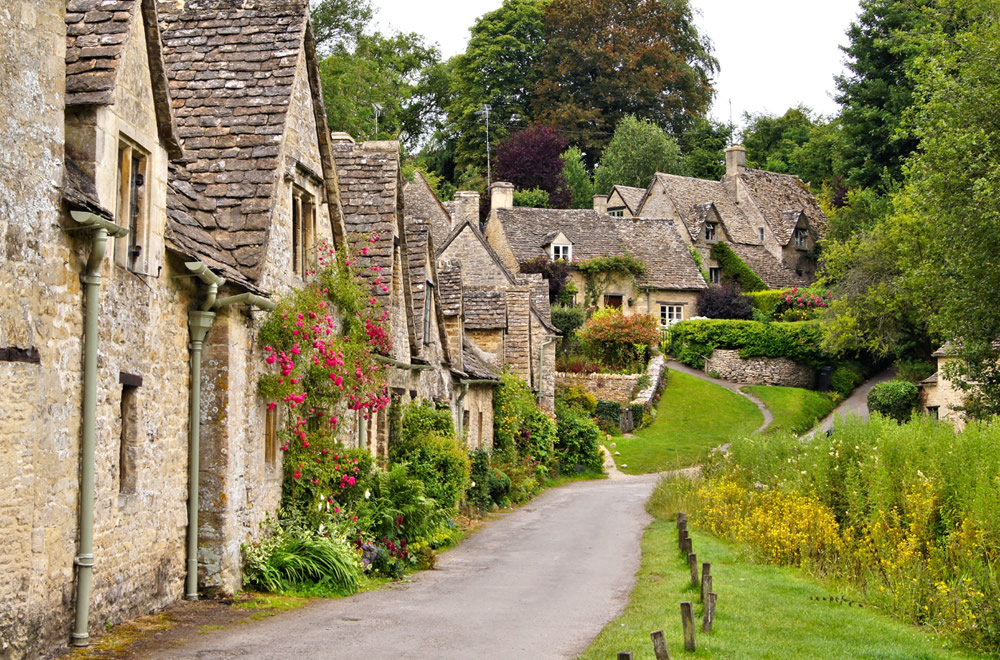 Bibury, a village in Gloucestershire, England
