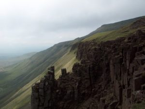 View From High Cup Nick on The Pennine Way - The Pennines