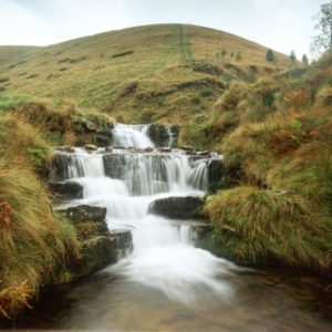 Kinder Down Fall WaterFall in the Pennines