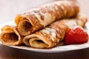 Rolled English Pancakes