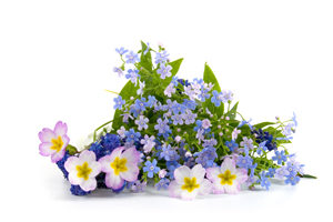 Mothers Day Spring Wild flower Bouquet