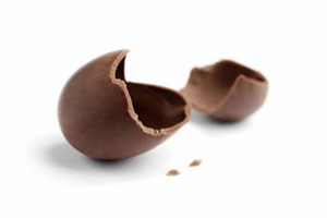 Chocolate Easter Egg Pieces