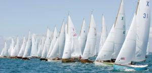 Sailing Fleet at Cowes Week