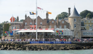 The Castle of the Royal Yacht Squadron Cowes
