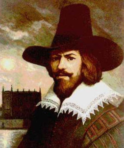 Picture of Guy Fawkes also known as Guido Fawkes