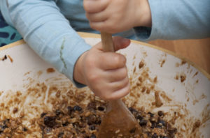 Stir Up Sunday - Stirring The Christmas Pudding