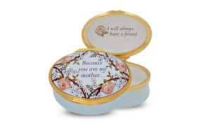 Enamel box by Halcyon Days - Because you are my mother