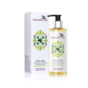 Body Wash - Lemongrass and Mint by Summerdown Mint