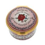 Valentines Day Rose Enamel Box 2018 - Halcyon Days
