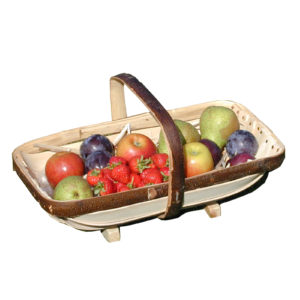 Royal Sussex Trug with Harvest Fruit